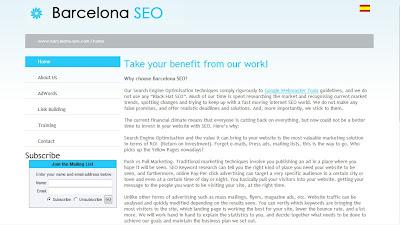 SEO home page - Barcelona SEO Blog