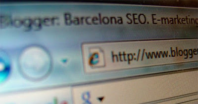 Barcelona SEO - close up of url