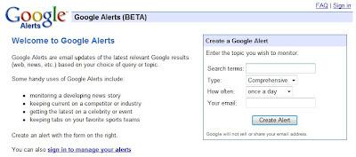 Google Alerts - Barcelona SEO
