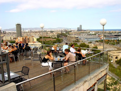 Barcelona Sights - View from Miramar cafe