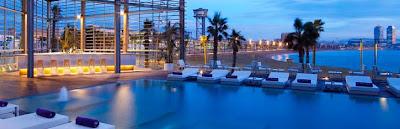 Wet Bar at W Hotel - Barcelona Sights