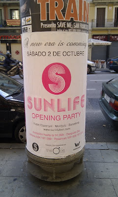 Sunlife Coming Your Way - Barcelona Sights Blog