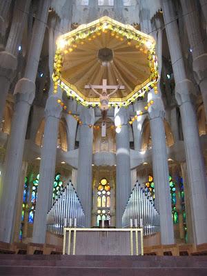 Sagrada Familia Altar - Barcelona Sights Blog