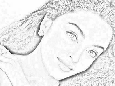 Aishwarya Rai Sketches of Bollywood Stars gallery bollywood pictures