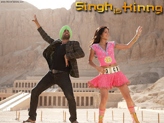 Katrina Akshay Kumar Dancing in Singh Is King