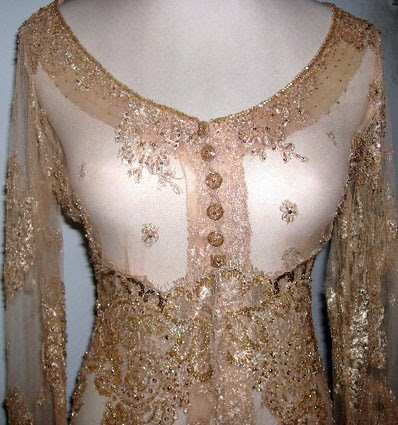Jual Kebaya Second Bekas: Kebaya Gold Biyan Bride (SOLD OUT)