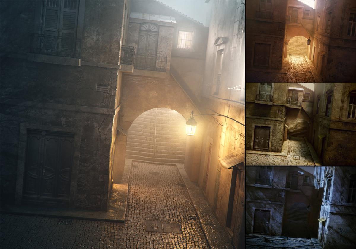 Lighting La Ruelle 3ds Max V Ray Mental Ray3d Models Ad Works Art Images Wallpaper Fonts
