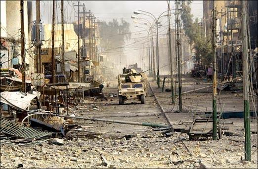 Fallujah street scene