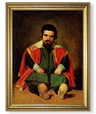 Diego Velázquez: Retrat del bufó Sebastián de Morra