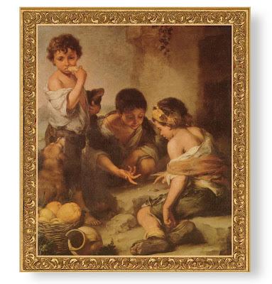 Bartolomé Esteban Murillo: Nens jugant a daus
