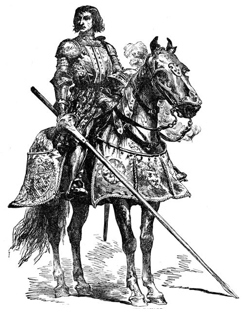 Medieval knights were the wealthiest soldiers in the middle ages