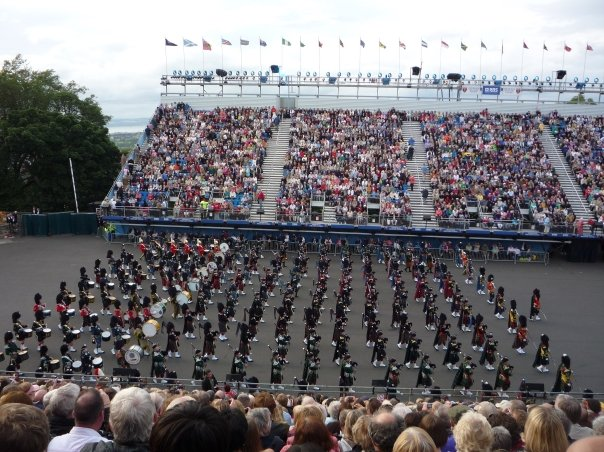 The Edinburgh Military Tattoo is the Army in Scotland's contribution to
