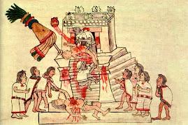 SACRIFICIOS HUMANOS AZTECAS.