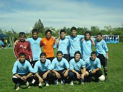 "SERIE JUVENIL DEL CLUB DEPORTIVO CULTURAL ""HURACAN VILLA EL ABRAZO DE MAIPU"", BI-CAMPEON AÑO 2008."