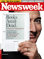 Amazon Kindle Newsweek cover