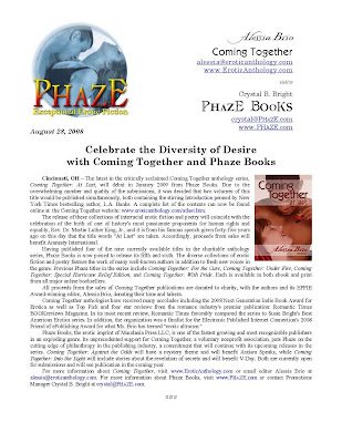 Press Release for Coming Together: At Last