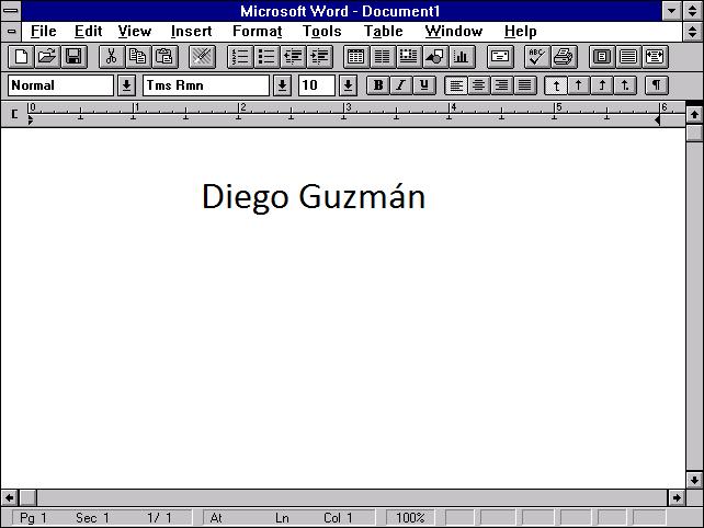 En el año 1990 Excel 3.0