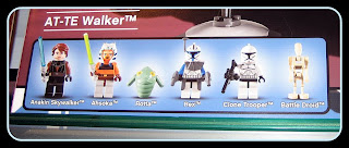 7675 AT-TE Walker mini-figures prerelease 2008