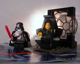 star wars lego collectables - 7200 - Final Duel I - Darth Vader Emperor Palpatine