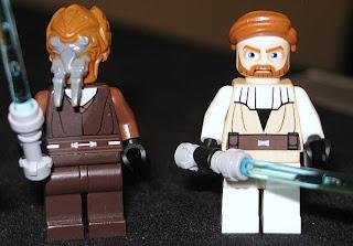 7676 Obi-Wan Kenobi Plo Koon star wars lego minifigures