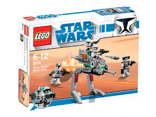 2009 Lego Star Wars Collectable - 8014 Clone Walker Battle Pack