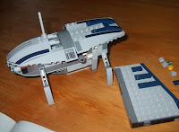 star wars lego collectables 8036 separatist shuttle building