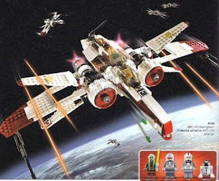 starwars lego collectables 8088 arc 170 starfighter 2010