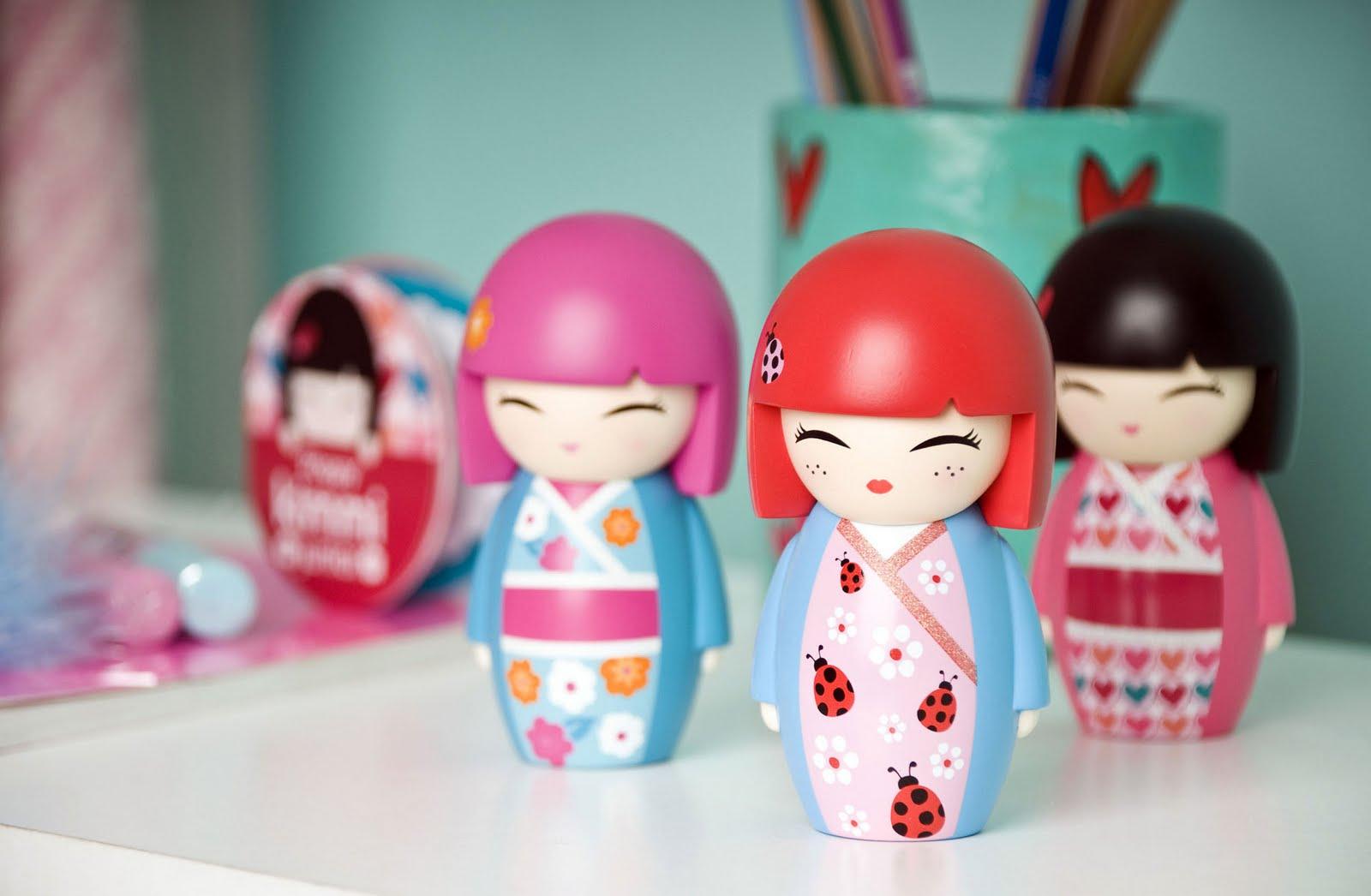 las Kimmidoll : kokeshis muñecas japonesas