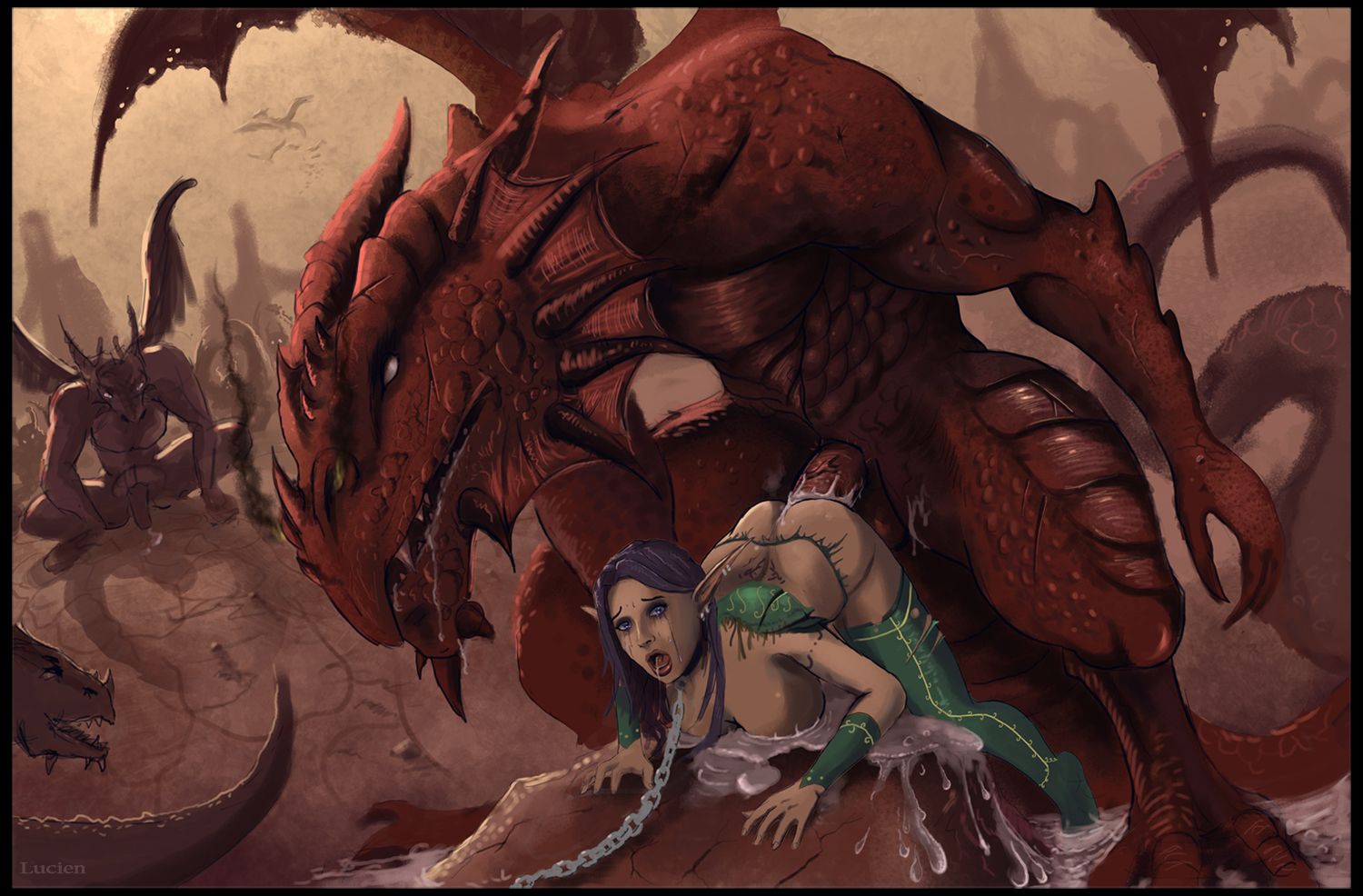 3d monster dragons hentai video hentia pics