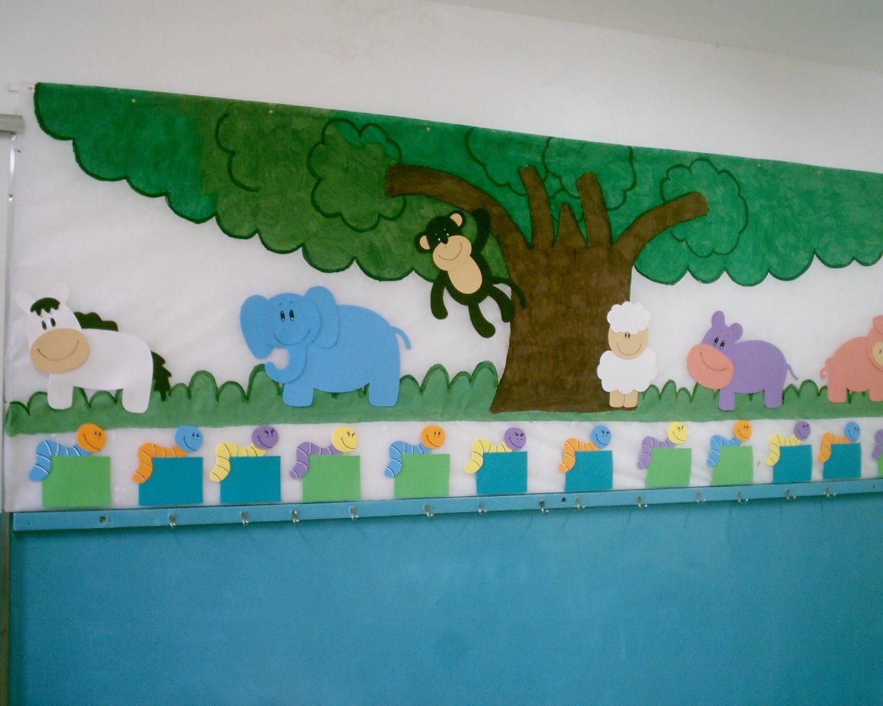 da sala da turma de Berçario II da Escola de Educação Infantil