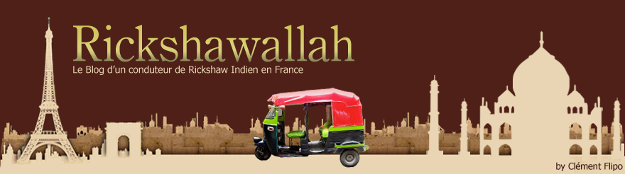 Le Blog d'un conducteur de Rickshaw en France