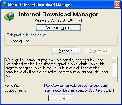 DOWNLOAD IDM TERBARU VERSI 6.05 PATCH - FULL