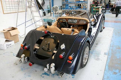 Cars Made Out of Wood - A Morgan Car