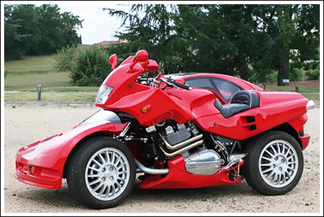 World Amazing Bike With Sidecar