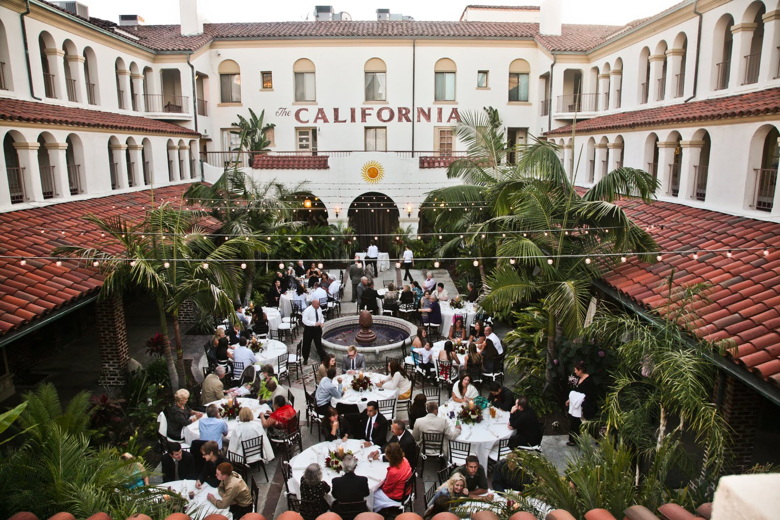 Downtown fullerton wedding venue lavenders flowers for Villas del sol