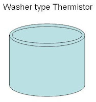 washer type thermistor