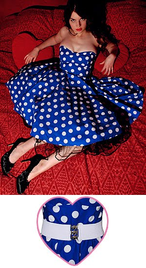 Polka Dots 1950s-blue-polka-dot-prom-dress-300