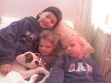 Andrew, Sayler, Ridge & Optimus Prime (puppy)
