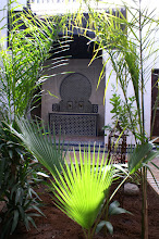 Fountain in Riad Felloussia
