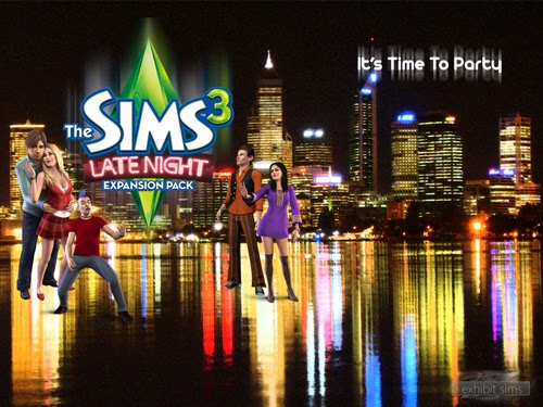 ea games  the sims 3  late night