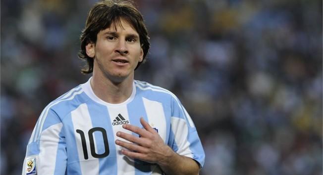 messi argentina 10. 10. Lionel Messi - Argentina