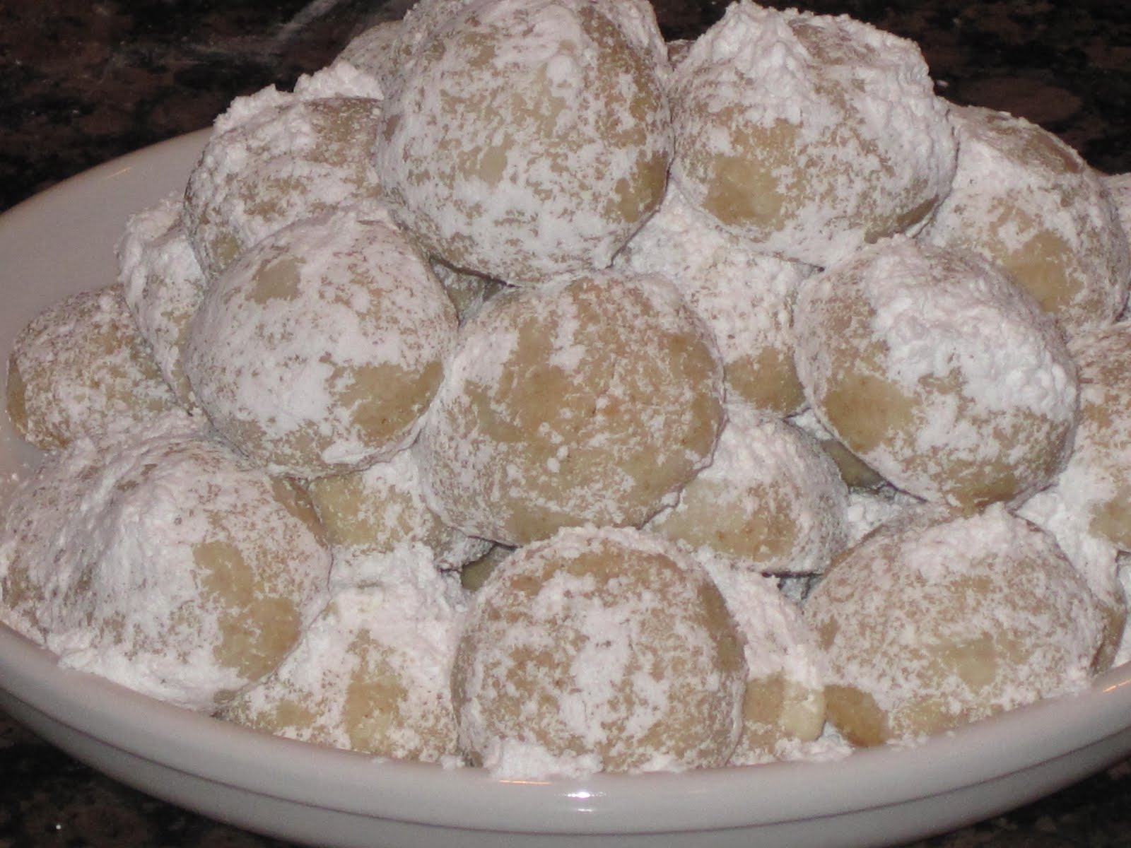 Pumpkin Pecan Polvorones (Mexican wedding cookies) Images - Frompo