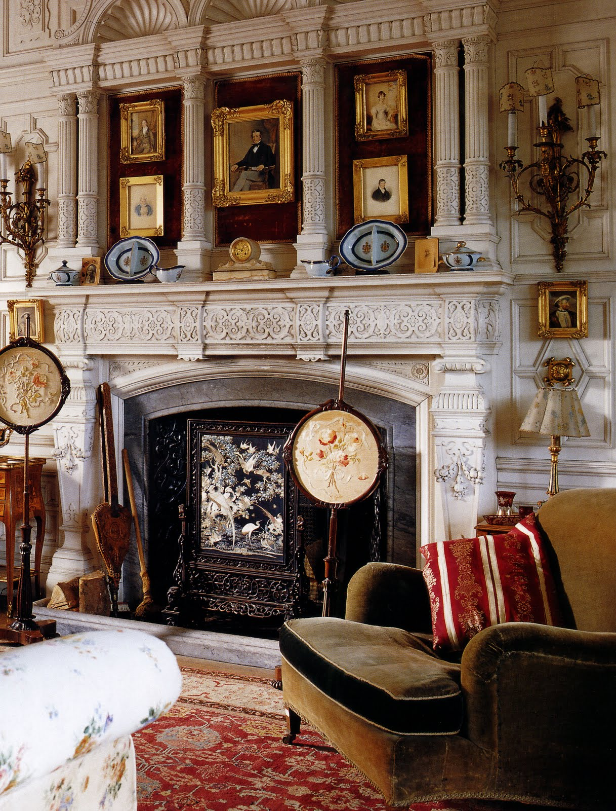 Cityzenart english country homes 1830 1900 - Country homes and interiors pinterest ...