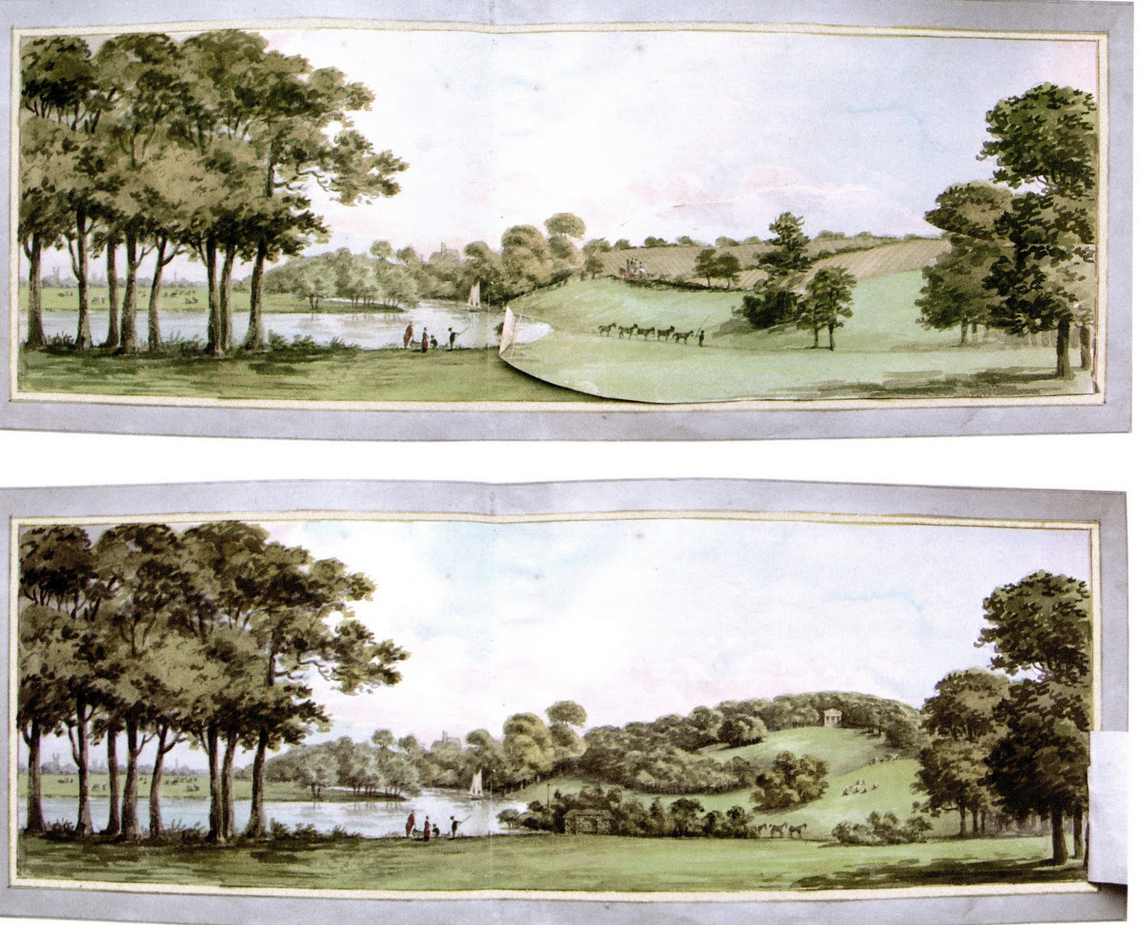 From a Red Book by Humphry Repton