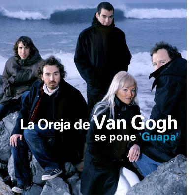 la oreja de van gogh en espanol: