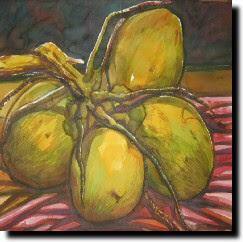 ภาพวาดรูปผลไม้