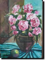 ภาพวาดรูปดอกไม้