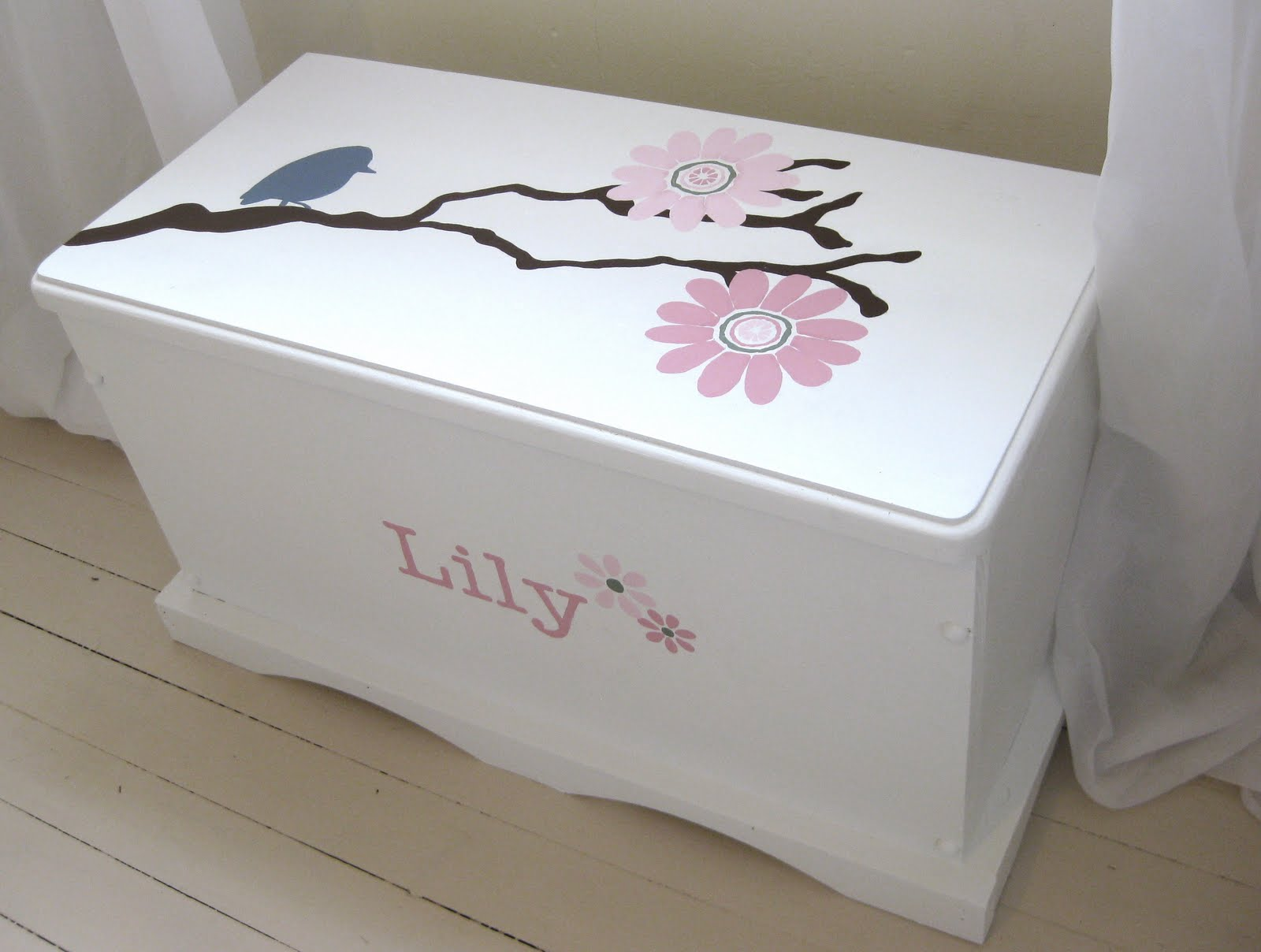 Creative Painting Ideas For A Toy Box