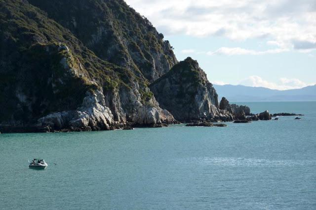 Por mar descubriremos los rincones perdidos de Abel Tasman en Nueva Zelanda