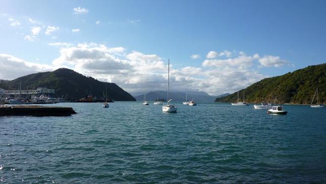 En el estrecho de Cook suele haber mucho viento